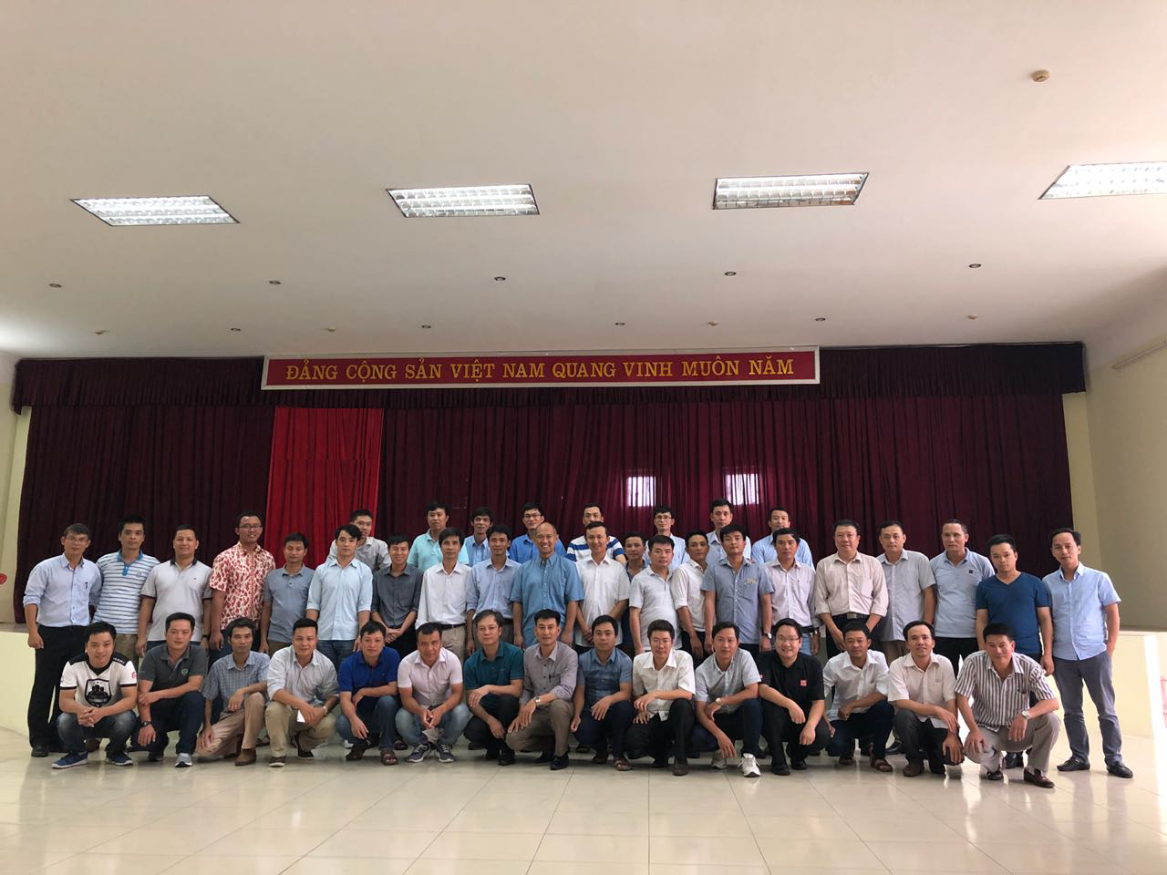 Condition Management Training for Vietnam Cement