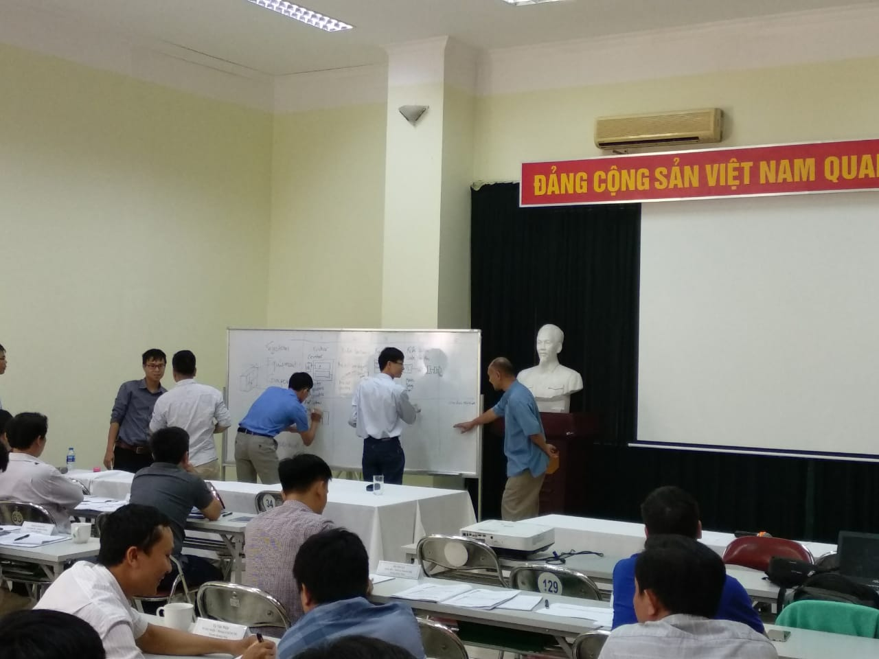 condition managemen training vietnam cement