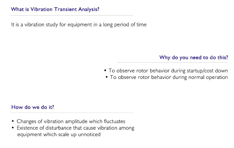 Vibration Transient Analysis