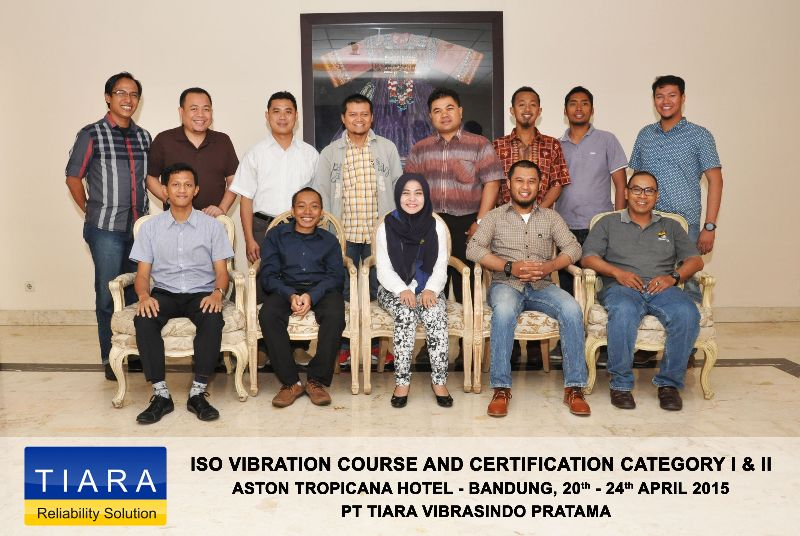 ISO Vibration Certification Course Category I & II